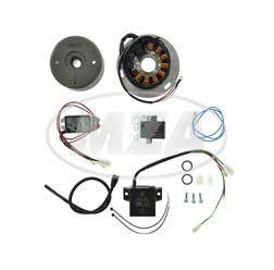 Lichtmagnetzündanlage 12V/ 180W DC - passend für Yamaha XT500, TT500, SR500