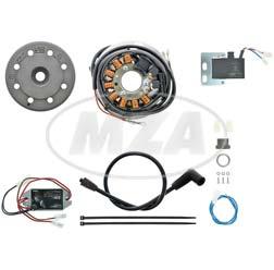 Lichtmagnetzündanlage 12V 100W DC, passend für Sachs Ultra 50/80, luftgekühlt