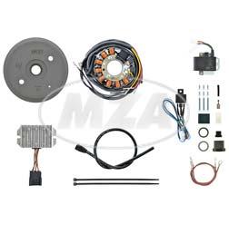 Lichtmagnetzündanlage 12V 180W - passend für DKW SB200, TM200, Sport 250, Block 200-300