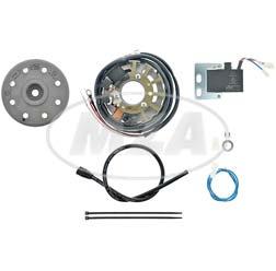 Lichtmagnetzündanlage 6V 18W AC - passend für NSU Quickly