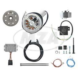 Lichtmagnetzündanlage, passend für Zündapp KS 750 - Lichtleistung 12V 180W DC