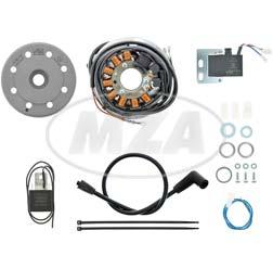 Lichtmagnetzündanlage 12V/ 70W AC - passend für 2T-KTM-, Rotax (Aprilia) 123+127-Motoren, Cagiva WMX125