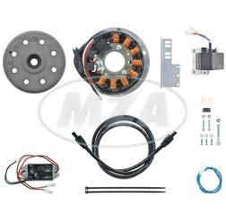 Lichtmagnetzündanlage 12V/ 150W DC - passend für Rumi Formichino 125