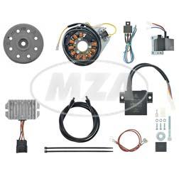 Lichtmaschine/elektronische Zündung, 12V 190W Lichtleistung - passend für 2-Ventiler BMW /6 und /7 Modelle