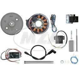 Lichtmagnetzündanlage 12V/ 180W DC - passend für Motobecane-Serie Z (175 Z 22C)