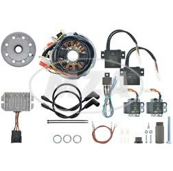 Lichtmagnetzündanlage 12V/ 150W DC - Sondersystem - passend für Yamaha XS650