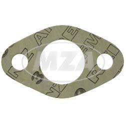 Dichtung zum Vergaserflansch,  AWO 425 T - 2 mm stark, Lochinnendurchmesser 25 mm ( Marke: PLASTANZA / Material AMF 39 )