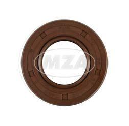 Wellendichtring NJK 25x47x10 - FPM - Viton - braun - mit Staublippe