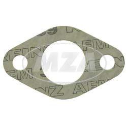 Dichtung zum Vergaserflansch,  AWO 425 S - 2 mm stark, Lochinnendurchmesser 27 mm ( Marke: PLASTANZA / Material AMF 39 )
