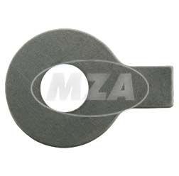 Sicherungsblech mit Lappen - Ø8,4 mm - zum Kipphebelbolzen, Zylinderkopf - pass. für AWO 425S