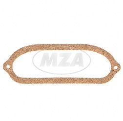 Ventildeckeldichtung klein - Schutzhaubendeckel  EMW R35-3 (Marke: PLASTANZA /  Material Presskork )