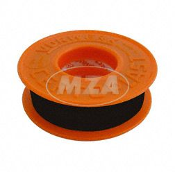 Friction tape Certoplast (PVC) black 10m x 15mm