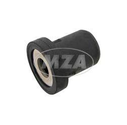Mutter - Gummimutter - Verbundmutter Rifkle elastik M6 - Montagelochdurchmesser 12,5 mm - Länge ca.19 mm