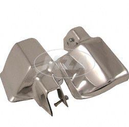 Protektor Lenkerhandschutz Chrom-Optik  ETZ/TS