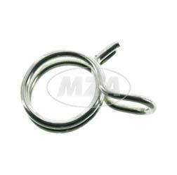 Screw clip chuck range 7,8 - 8,3 mm - wir thickness 1,0mm - ideal for securing fuel hose, oil hose etc.