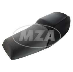 Einzelsitzbank grau, mit schwarzer Abdeckung für Sozius - nur für S53 Mofa