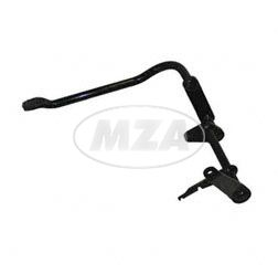 Foot brake lever S53M - Mofa - black powdercoated