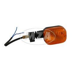 Blinkleuchte vorn links / hinten rechts - 10 Watt, Gewindeanschluß 10x1,25 , mit Kabel 150 mm lang
