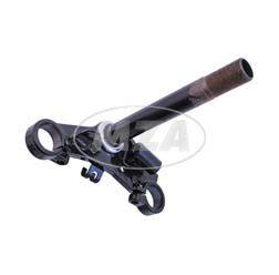 Gabelführung unten - mit Gabellaufring A - schwarz pulverbeschichtet - Sperber MS50 mit Marzocchi-Gabelholmen