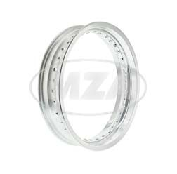 Wheel rim - Aluminium 3,00x16, silver anodised - 36 holes