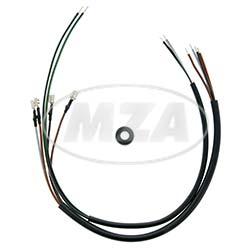 Kabelsatz zur Anhängersteckdose S51, S70 - Kabelquerschnitt 0,75 mm²