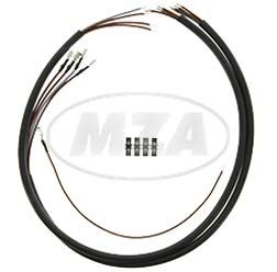 Kabelbaumset zur Anhängersteckdose KR51 - Kabelquerschnitt 0,75 mm²