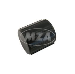 Petrol tap case for petrol tap, black, cylinder shape, with watertrap