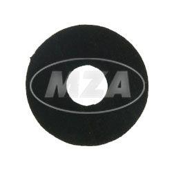 Gummischeibe EPDM, ø 3x9x1, Weichgummischeibe, Sicherungsscheibe f. Schrauben, u.a. Blinkleuchten, Rückleuchten, Begrenzungsleuchte