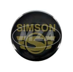 Metal button Ø25mm - with protective coating and d-shaped pin, image: SIMSON modern