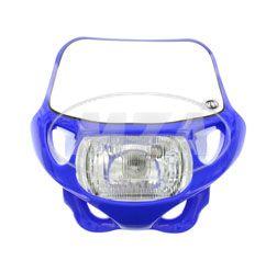 Scheinwerfermaske mit Scheinwerfer blau TS/SC