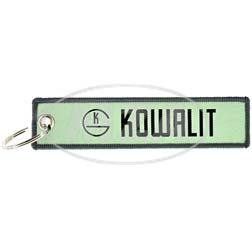 Stoff-Schlüsselanhänger - Motiv: Kowalit - wenn's Gummi sein soll