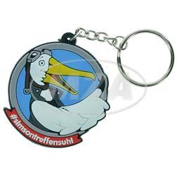 PVC-Schlüsselanhänger - Motiv: STS-Maskottchen Albatros