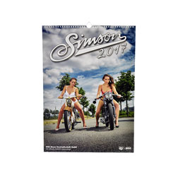SIMSON Erotik-Kalender 2017 - Fotokalender, Farbdruck, in bedrucktem Karton