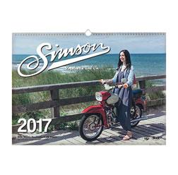 SIMSON Vogelserie & Co. Kalender 2017 - Farbdruck, in bedrucktem Karton
