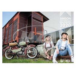 Simson bird series & Co. calendar 2020