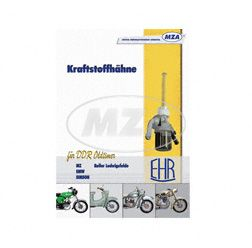 Catalogue - Petrol taps for Oldtimer - EHR - SIMSON, MZ, EMW, Roller Ludwigsfelde - spare parts list