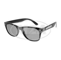 Sonnenbrille inkl. bedrucktem Brillenetui aus Neopren mit Schwalbe-Motiv