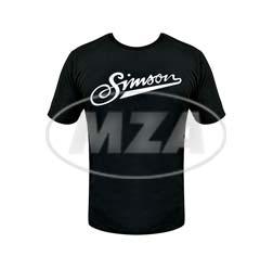 T-Shirt, Farbe: schwarz, Größe: XS - Motiv: SIMSON weich - 100% Baumwolle