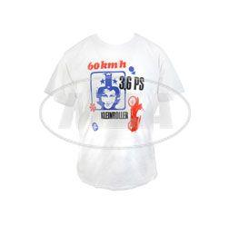 RETRO-SIMSON-Werbeanzeige auf TShirt, Herrengröße XXL -