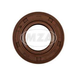 Wellendichtring NJK 17x32x7 - FPM - Viton - braun - mit Staublippe