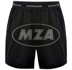 Boxershort, Farbe: schwarz, Größe: M - Motiv: SIMSON