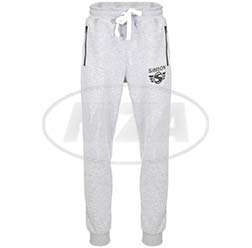 Jogginghose, Farbe: grau, Größe: M - Motiv: SIMSON