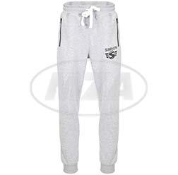Jogginghose, Farbe: grau, Größe: XL - Motiv: SIMSON