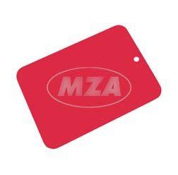 Farbmuster auf Blech Leifalit (Premium) rot für MZ Modelle ES & TS