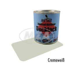 Lackfarbe Leifalit (Premium) cremeweiß 0,5l