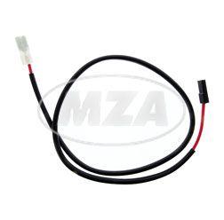 Stromkabel, rot - 4,0 mm² - zum Anlasser Mokick