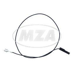 Steuerleitung Relais - schwarz , 0,75 mm² - Anlasser Mokick