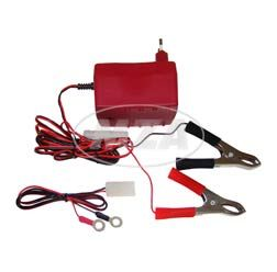Charger for battery 6V -12 V, Hella, (for 4 - 15Ah)