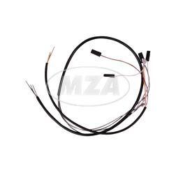 Kabelbaum für Schalterkombination - 12Volt - ohne Lichthupe - flacher Lenker
