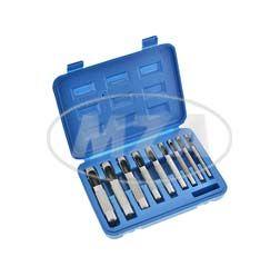 SET Locheisensatz zum Anfertigen von Dichtungen - für Stehbolzendurchmesser von 3 - 12 mm